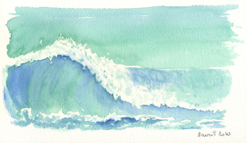 Etude de vague