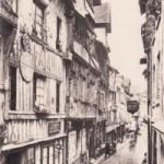 CPA Lisieux - La rue aux Fèves